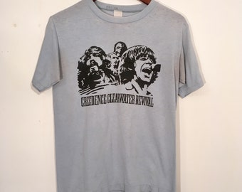 Vintage 70's Creedence Clearwater Revival Shirt Small/Medium