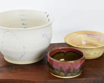 """Unique Bowl """"Eye Wonder Why"""""""