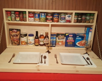 Murphy Table Pantry Cabinet