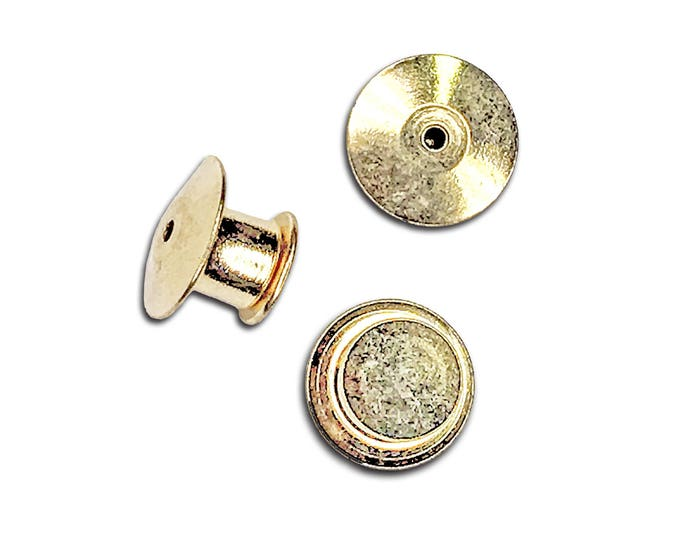 Deluxe Locking Pin Backs (3)