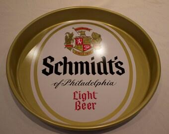 Schmidt's of Philadelphia Light Beer Tray - FREE SHIPPING!!