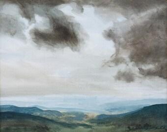 Shenandoah #1 (oil painting of Shenandoah National Park, Virginia. Skyline Drive)