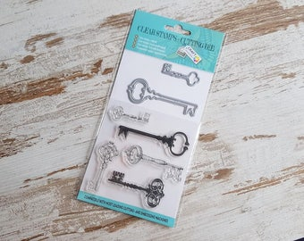 Clear stamps and dies