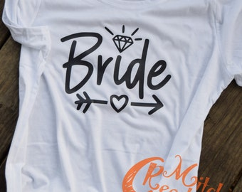 Bride T-shirt! - Made to Order