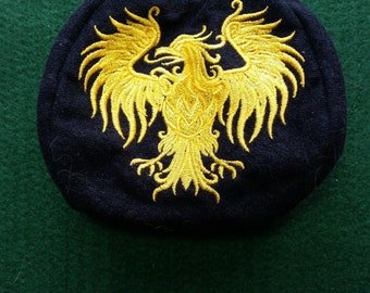 L205  Coin purse. Heraldry eagle