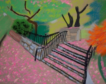 Springtime Stairs