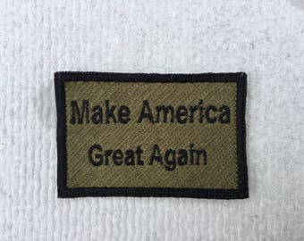 Make America Great Again Morale Patch - subdued