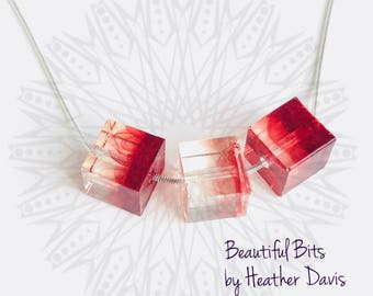 Block Bead Necklaces