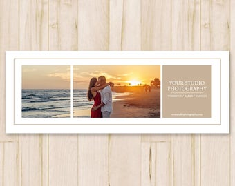 Facebook Cover Photo Template - Photography Facebook Timeline Cover Photo, Fb Template, Social Media - Photoshop PSD *INSTANT DOWNLOAD*