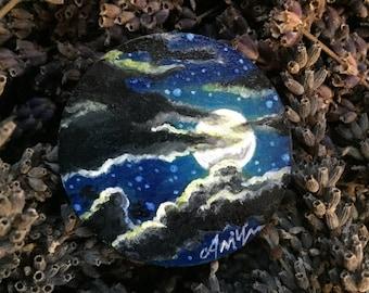 Moonlight Ride Brooch
