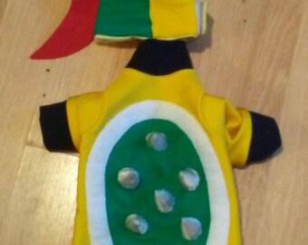 Bowser dog costume,  Bowser mario kart costume, Mario and Luigi,