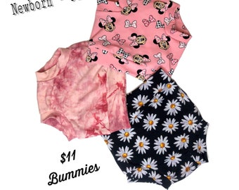 Baby Bummies , Baby Shorties, Diaper Cover