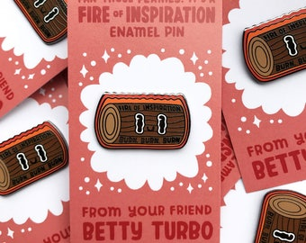 Fire of Inspiration Pin