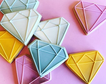 Gemstone Decorated Sugar Cookies-1 dozen