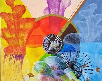 Corals of Color Wheel