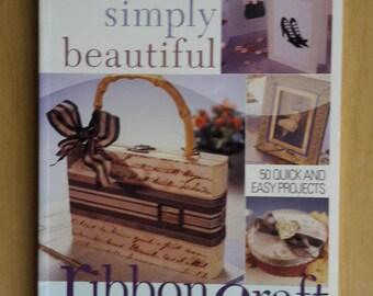 Simply Beautiful Ribbon Craft by Heidi Boyd, Ribbon Embroidery Book, How to do Ribbon Embroidery, Embroider with Ribbon