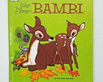 Bambi, Vintage Walt Disney, 1972