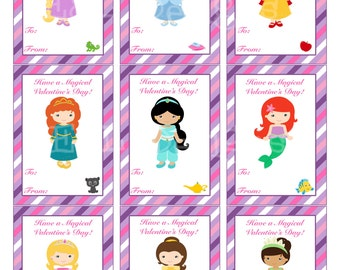 items similar to princess valentine s day cards valentine s day