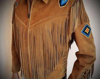 Tomahawk - Men's leather jacket (Free shipping)