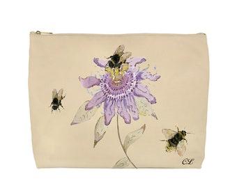 Passion Flower Wash Bag
