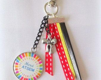 bag charm Keychain multicolor original school gift