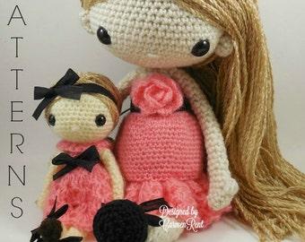Rachel & Naomi Anne - Amigurumi Doll Crochet Pattern PDF