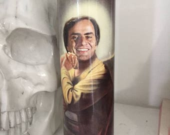 St Carl Sagan prayer Candle