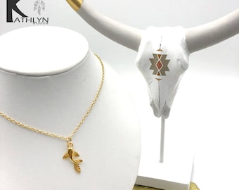 24 K Gold Koi Carp fish necklace