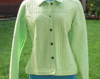 oleg weekend lime jacket size large