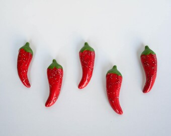 Small Chile Pepper Magnet