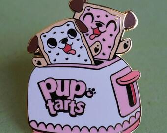 Pup Tarts Hard Enamel Lapel Pin