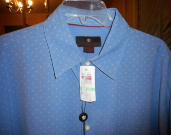 Extremly Nice Shirt    Size Large  Short Seeve   by TOSCANO   Never Worn,  Still With Tags On