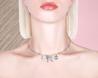 silver pug necklace, pug gift, pug pendant, pug charm, pug jewelry,pug jewellery, dog jewellery, dog necklace, christmas necklace