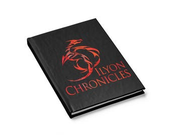 Ilyon Chronicles Red Dragon Journal  Ruled Line