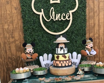 Mickey Backdrop, Mouse Birthday Party Photo Backdrop, Dessert Table Decorations, Mouse Candy Table Backdrop, Clubhouse Birthday