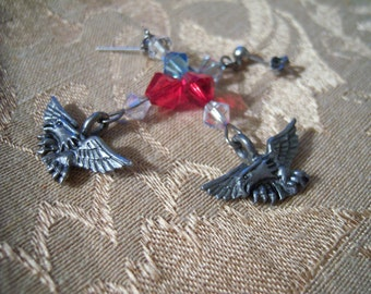 Patriotic Eagle Earrings