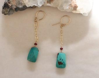 Turquoise Earrings #53