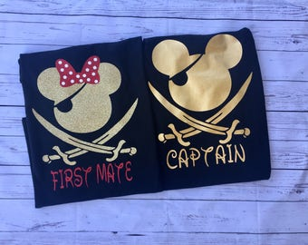 Pirate Mouse shirt, family pirate shirt, Disney cruise family shirt
