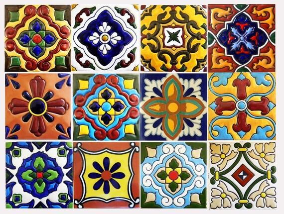 Kitchen Bathroom Tile Decals Vinyl Sticker : Mexican Spanish