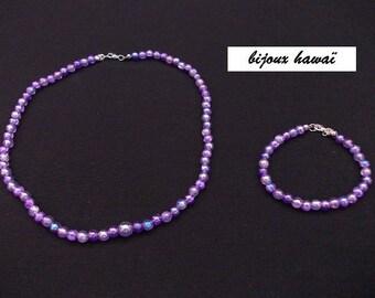 Set two pieces purple kids