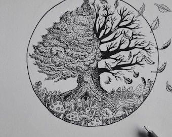 "A5 print ""Tree of Life"""