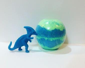 Dinosaur Surprise Toy Bath Bomb Kid's Bath Bomb