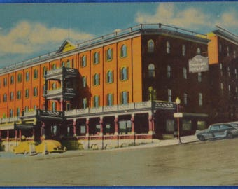 Hotel New Sherbrooke Province of Quebec Canada Standard Postcard Unused