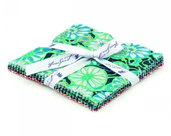 """Sale! Free Spirit Fabrics - True Colors by Amy Butler - 5"""" Squares / Charm Pack"""