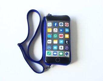 IPhone Kids Felt Purse Small Smartphone Bag