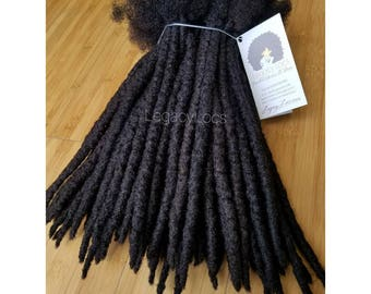 Handmade 100% Human Hair Dreadlock Extensions