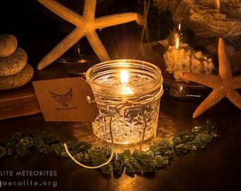 Moldavite Citrus Candle