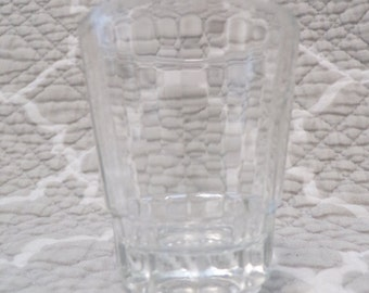 Small Crystal Shot Glass - unmarked