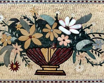 Roman Influence Flower Vase