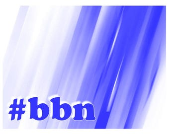 Big Blue Nation note cards A4 sized bbn set of 12 with matching envelopes